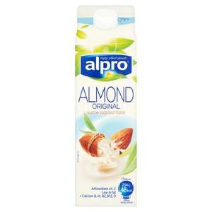Alpro Almond Original Drink Chilled 1l - £1 at Asda