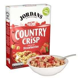 Jordans Country Crisp Strawberry 500g £1.5 at Asda