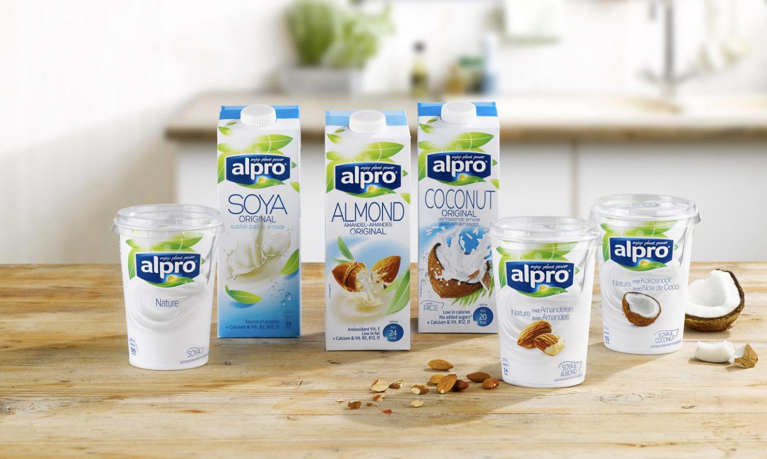 Alpro Fresh and Long life drinks + Yogurt - £1 each at Sainsbury's