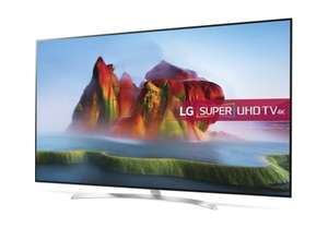 "LG 65SJ850V 65"" Freeview HD and Freesat HD and Freeview Play Smart 4K Ultra HD with HDR TV £1192.90 -  Appliance Electronics"