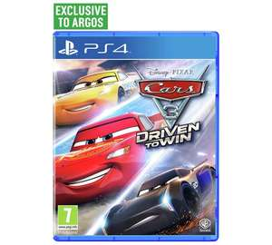 Cars 3 : Driven to win Ps4 - £24.99 @ Argos
