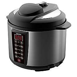 ElectriQ 7-in-1 Electric Pressure Cooker, 6 Litre, 1000 W, Brushed Stainless Steel/Black  £50.97 at Tesco
