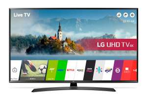 LG 49UJ635V 49 Inch Smart 4K Ultra HD TV with HDR £419 @ argos