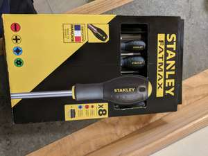 Stanley Fatmax Screwdriver Set £10 at B&Q instore