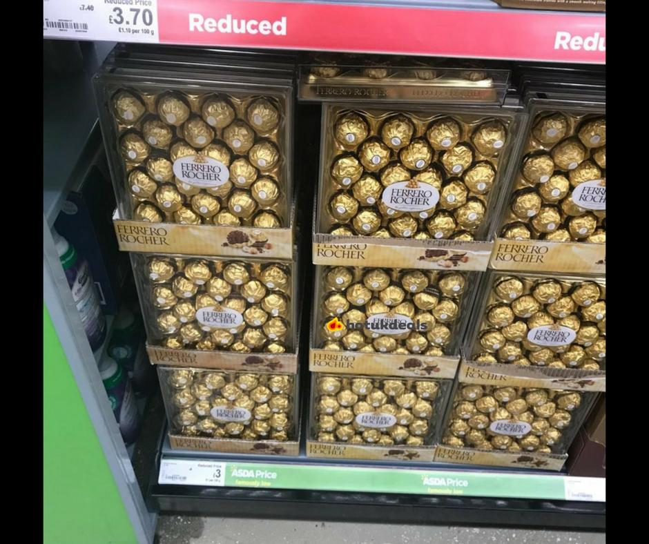 Ferrero rocher £3 box 24 pieces instore at Asda