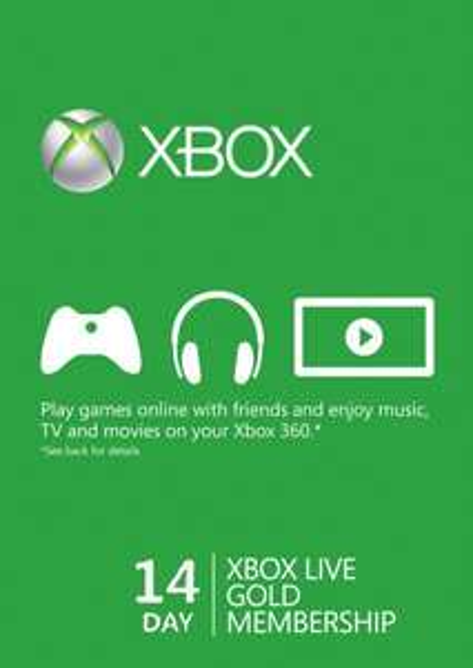 14 Day Xbox Live Gold Trial Membership (Xbox One/360) @ CDKeys - £2.99