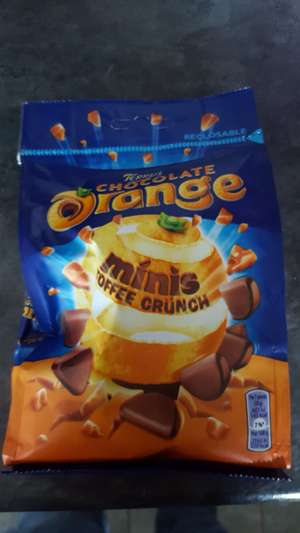 Terrys chocolate orange toffee crunch mini bag 125g - 10p instore @ Sainsbury