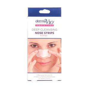 Derma V10 Q10 Innovations Nose Strips 6 Pack £0.99 + £1.99 P&P @ fragrancedirect