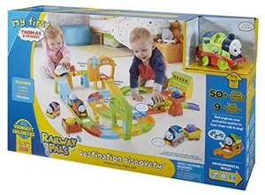 Thomas & Friends FKC87 My First Railway Pals Destination Discovery Playset £20 @ Amazon