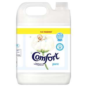 Comfort Pure Fabric Conditioner, 5 Litre £6 (Prime) / £10.75 (non Prime) at Amazon
