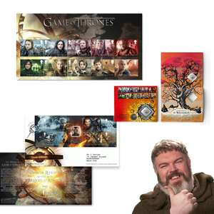 Game of Thrones Stamps / collections Pre-Order - Items from 30p (£1.45 p&p) @ Royal Mail - A Stamp Collection is coming...