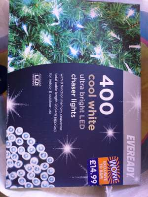 B&M Fairy lights All reduced to £1 instore