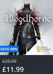 Bloodborne (PS4) £11.99  / Game of the Year £15.99 at PSN