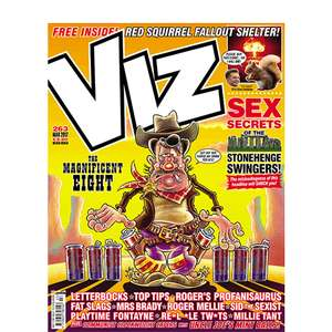 Viz, - 3 issues for £1 - Free Del - Remember to cancel Subscription