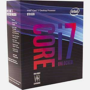 Intel 8th Gen Core i7-8700K Processor Boxed Retail CPU - £347.99 @ Amazon UK - In Stock now