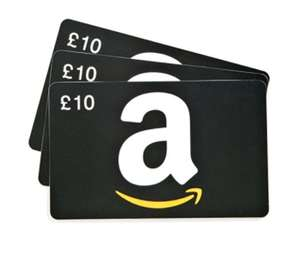 Buy £30 Amazon giftcard, receive £6 free credit
