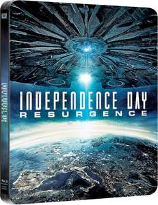 Independence Day : resurgence 3D + 2D steelbook - £10.99 @ Zavvi