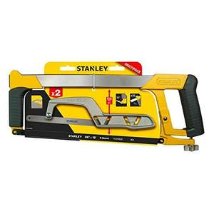 Stanley Hacksaw and padsaw set £5 @ B&Q Free click and collect instore.
