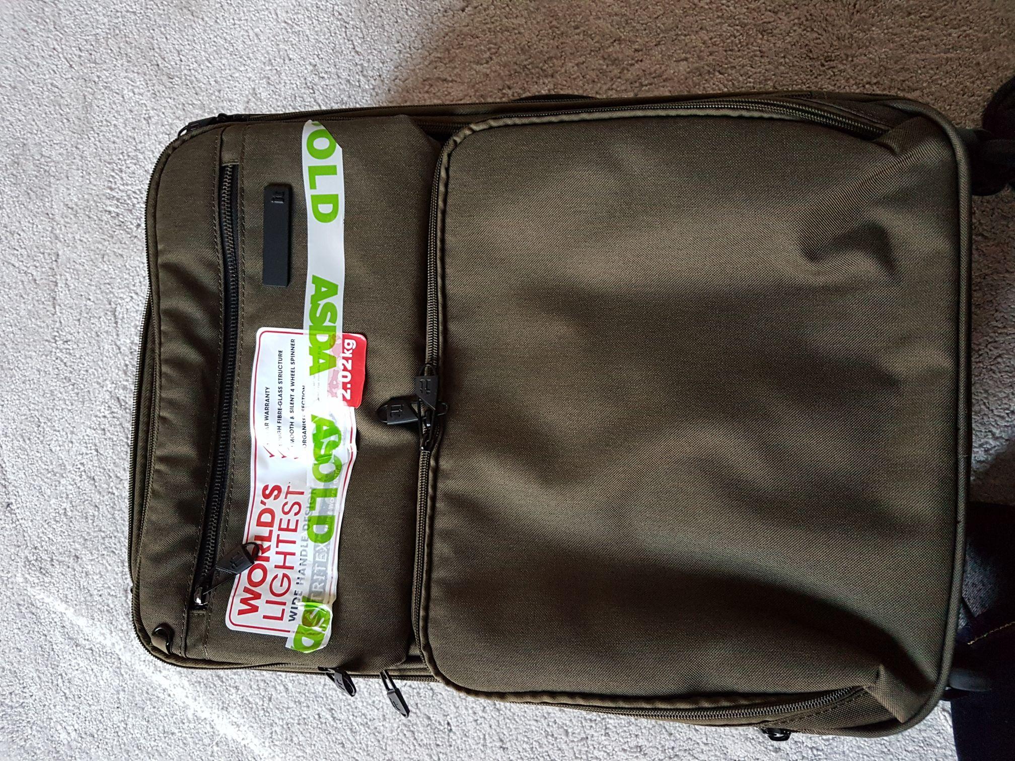 Cabin suitcase - £17 instore @ Asda