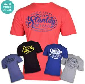 Stanley Men's Workwear Fargo T-Shirt - (5 Pack) £33.98 Delivered (£32.28 with newsletter signup) @ Winfields Outdoors