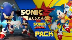 Sonic Forces + Sonic Mania Pack on PC (Steam Keys) £34.99 @ Fanatical