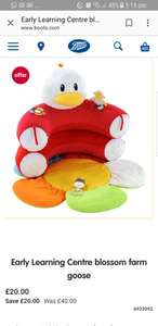 Early learning centre blossom farm goose sit me up cosy - £20 @ Boots