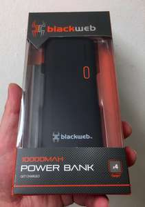 Blackweb 10000mAh Power Bank £10 @ ASDA
