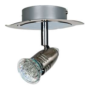 Ceiling or Wall spotlight for GU10 Bulb.  £1 at Homebase - in store only
