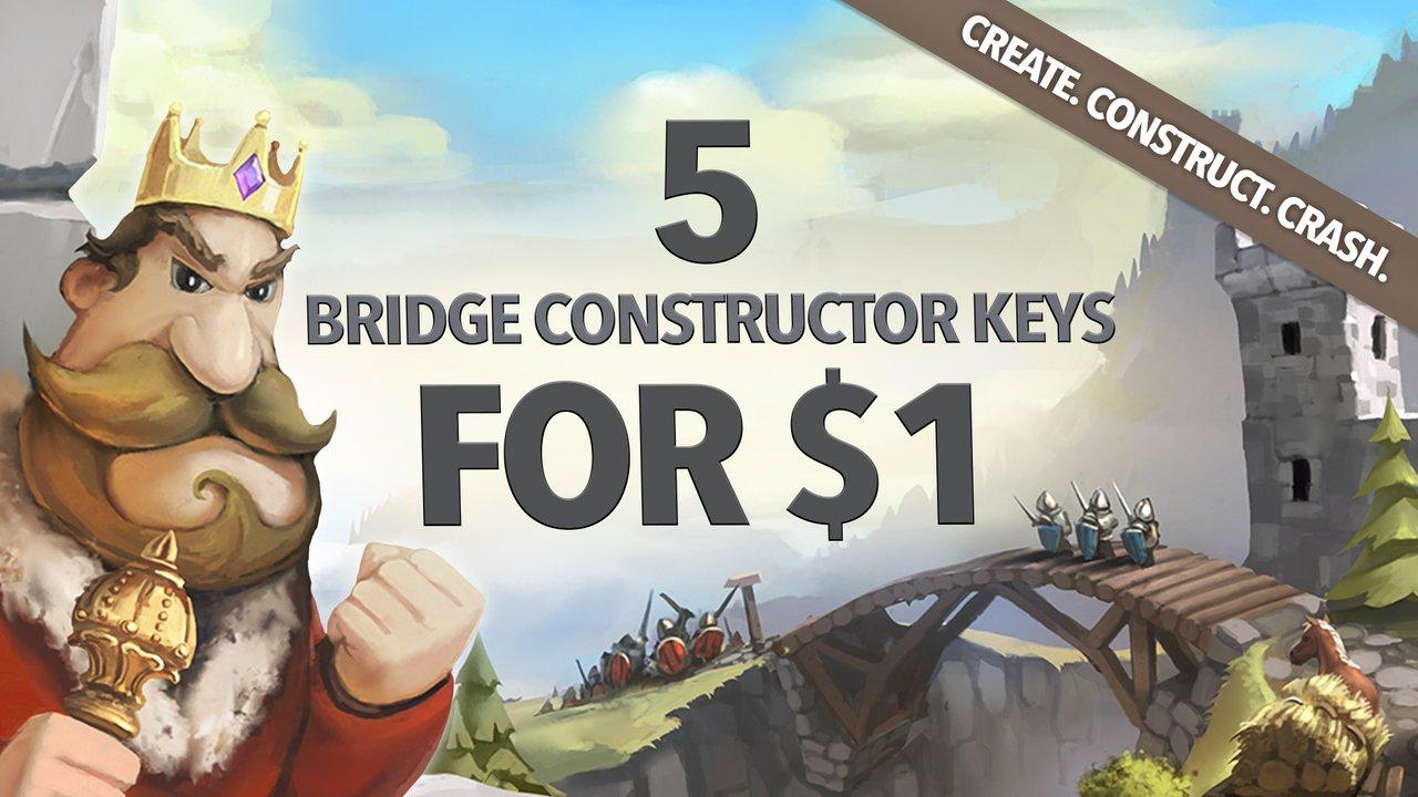 Bridge Constructor PC bundle (Steam) £0.89 @ Fanatical