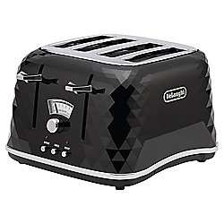De'Longhi Brillante Toaster - All Colors (Black, Red and White) reduced to £33.50 (Free C&C) @ Tesco Direct