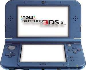 Nintendo Newest 3DS XL Model Console - Metallic Blue-From the Argos Shop on ebay Refurbished With a 12 Month Argos Guarantee £114.99 @ Argos Ebay