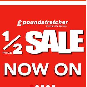 Sale on christmas lights and decorations @ Poundstretcher