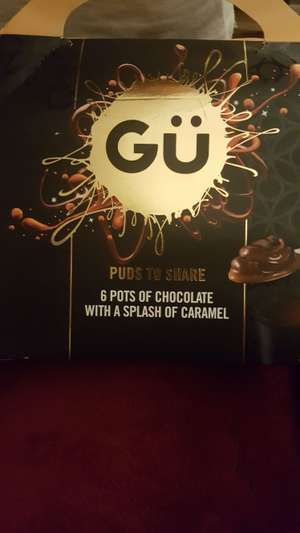 GU Puds to share was £4.50 now £1.12 @ Tesco
