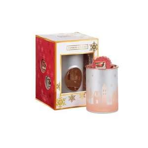 SAVE 70% - Yankee Candle - Christmas candles and melt cup warmer gift set £7.50 @ Debenhams