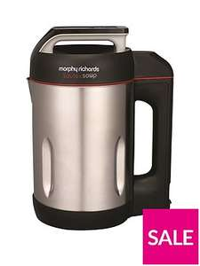 Morphy Richards Soup and Saute  (501014) stainless steel version now just £49.99 at Very delivered free with Collect Plus