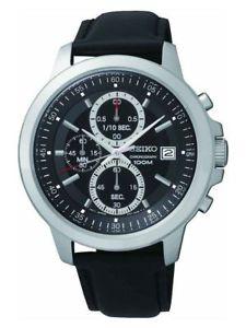 Seiko Men's Black Dial Chrono Watch £34.99 @ Argos eBay