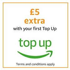 Get £5 extra with your first amazon Top Up (account specific)