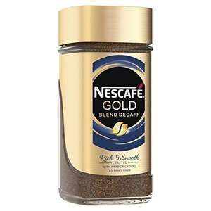 NESCAFÉ GOLD Blend Decaff Instant Coffee, 200 g, Pack of 6 £13.37 Prime @ Amazon