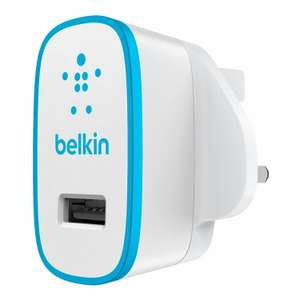 Belkin MIXIT USB 2.1A Mains Charger in Blue Only - £5.12 - Sold and Despatched by Hale Communications via Amazon