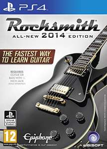 Lowest price for brand new PS4 Rocksmith including Realtone Cable £32.40 @ Amazon