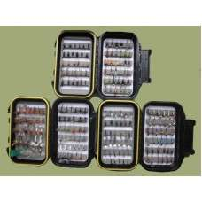 200 boxed river flies £45 @ Troutflies