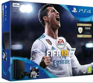 500GB Playstation 4 Slim FIFA 18 PS4 Console Bundle £199.99 back Order @ CPC