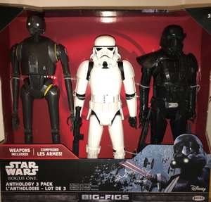 Star Wars big figs set of three £15 instore @ Tesco
