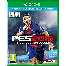 PES 2018 - Xbox One - Tesco Direct £15 BACK IN STOCK!!!!!!