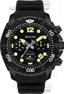 Bulova Mens' Stainless Steel Sea King Watch Reduced From £109.00 to £89.99 @ Ebay Argos
