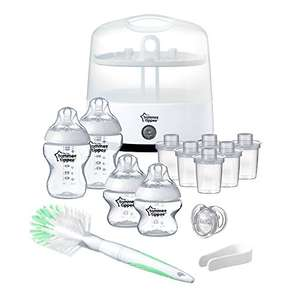 Tommee Tippee Closer to Nature Electric Steriliser Starter Set at Amazon for £31.49