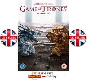 Game of Thrones - Season 1-7 [2017] DVD Boxset New Boxed Fast Delivery at Ebay/MediaBonanza for £59.99