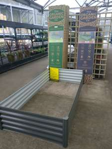 Garden raised bed was £69.99 now £25 in Homebase