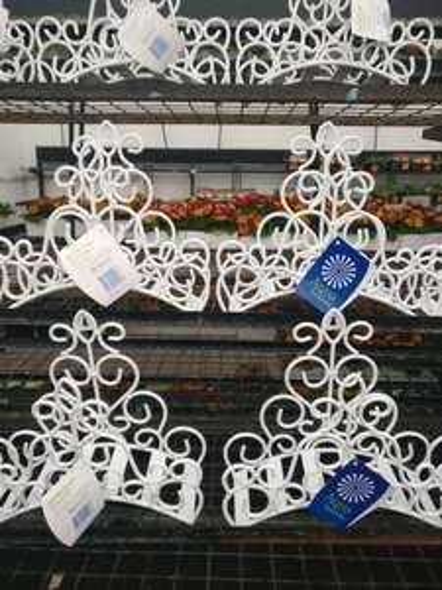 Decorative garden hose pipe hanger was £7.97 now £3.50 in Homebase