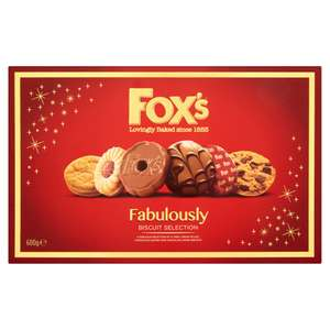 600G Fox's Fabulously Biscuit Selection @ Iceland £2 - Half Price